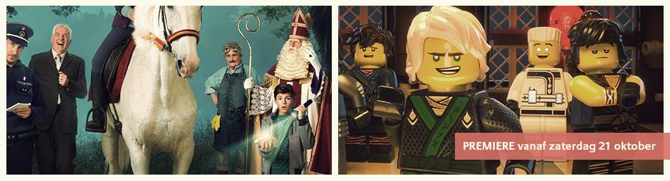 Lego Ninjago movie en sinterklaas en het gouden hoefijzer